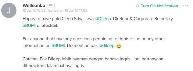 dileep-joins-stockbit